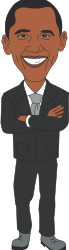 obama,president,suit,man,smile,face,tie,cartoon,president