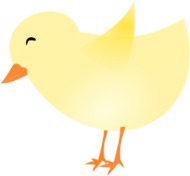 chick,spring,easter,yellow,baby,chicken,graphic,cartoon,svg,png,vector