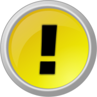 yellow,button,round,circle,exclamation,alert