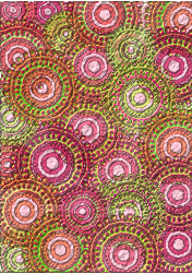 lime,pink,card,scrapbook,circle,pattern