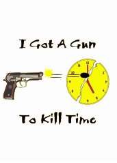 slogan,gun,firearm,9mil,time,clock,gun,firearm,clock