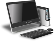 computer,hardware,keyboard,mouse,cpu,monitor,device,office,modern