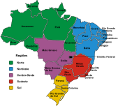 brazil,region,political,map,state,region,state