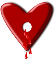 bloody,heart,love