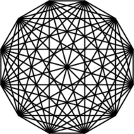 dodecagon,connection,12,sided,polygon