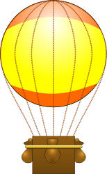 balloon,flying,flight,air,hot,cartoon,sky