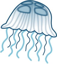 jellyfish,sea jelly,jelly,medusa,animal,cartoon,sea,marine,ocean