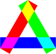 rgb,long,rectangle,triangle,color,mix