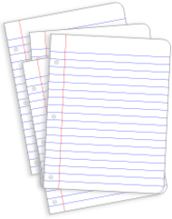 paper,stationery,office,lined paper