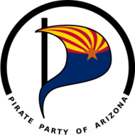 pirate party pirateparty flag icon symbol logo arizona az politics pirates piratpartiet pirate-party copyright patent privacy