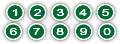 number,bullet,heading,mark,circle,green,public,domain,presentation