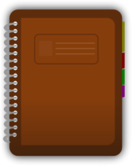 diary,journal,spiral,bind,book,marker,student,log,icon,media,web,svg,png