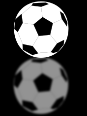 soccer,sport,ball,mirror,reflection,black,2d,white,monochrome,columbia