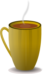 coffee,tea,beverage,hot,cup,earthen,public,domain,clipart,svg,png