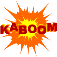 kaboom,explosion,burst,cartoon