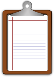writing,pad,paper,wooden,student,exam,cliart,public,domain,writing,svg,png