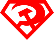 super,comrade,communist,hammer,sickle,superman,revolution,sign,socialist,worker,unite