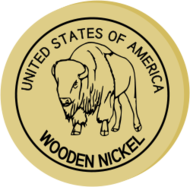remix,nickel,wooden,coin,coinage,wood,buffalo,bison,bison bison,american bison,american buffalo,united state,united states of america,america,american,usa,token,token coin,commemorative,commemorative nickel,commemorative coin,collectible,americana,collecting,coin collecting,five-cent