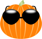 pumpkin,halloween,sunglasses,cool,holiday,cartoon,halloween