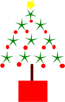 christmas,christmas tree,decoration,red and green