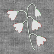 embroider,flower,fabric