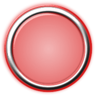 red,button,internal,light,round,circular,circle,bezel,chrome,glow,glowing,focus,press,on