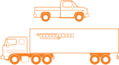 semi,trailer,pickup,truck,semi,trailer,pickup,truck