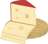 cheese,slice,food,milk,breakfast,jarlsberg,hole,dairy,breadboard,cutting,board,red,yellow,brown,french,slice,hole