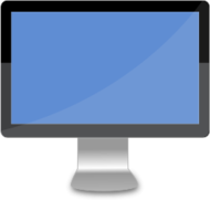desktop,lcd,computer,monitor,wide,screen,svg,png