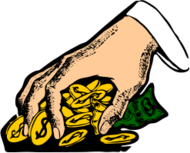 money,coin,hand,grab,cash