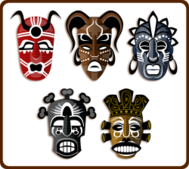 mask,tribe,trbal,culture,africa,african