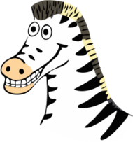 zebra,drawing