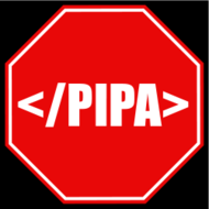 stop pipa,p.i.p.a,red,sign,octagon