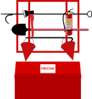 fire-fighting,fire,equipment,tool,extinguisher,stand,red,emergency