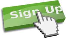 sign up,click,pointer