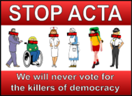 acta,censorship,internet,freedom,vote,people,politics,counterfeit
