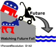 142,revolution,party,stand,watch,while,future,fall,time,new,system,cliff,drop,baby,politics,government,republican,democrat
