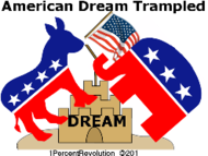 201,revolution,american,dream,being,trampled,party,politics,return,no,system,sand,castle,government,republican,democrat,revolution,1percentrevolution,american,dream,being,trampled,party,politics,return,no,party,system