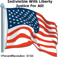 150,revolution,1percentrevolution,one,nation,indivisible,liberty,justice,all,divided,we,fall,usa,politics,government,republican,democrat