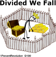 190,revolution,gated,community,united,we,stand,divided,fall,coward,rich,poor,divide,wealth,poverty,politics,government,republican,democrat