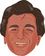famous,actor,vectorized,charicature