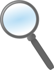 magnifying glass,glass