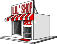 shop,store front,striped canopy,red,small business,local business