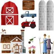 farm,barn,pick-up truck,vehicke,tractor,farmer,spade,wheelbarrow,country house,farm house,wind vane,pot,flower,hay fork,silo,farm,barn,pick-up truck,vehicke,tractor,farmer,spade,wheelbarrow,country house,farm house,wind vane,pot,flowers,hay fork,silo,farm,barn,pick-up truck,vehicke,tractor,farmer