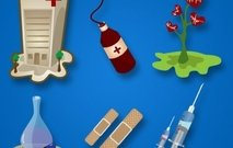 blood,bottle,capsule,clinic,equipment,health,heart,hospital,medical,medicine,needle,nurse,plaster,pulse,syringe