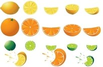 citrus,food,fruit,lemon,lime,orange,slice,splash,tart