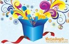 gift,box,circle,swirl,celebration