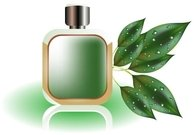 perfume,bottle,leaf,misc,object,green