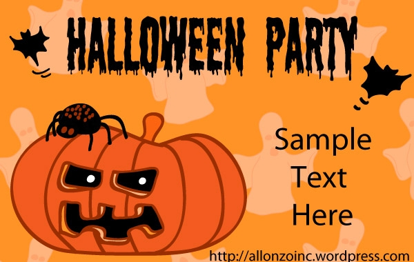 halloween clipart invitations - photo #27