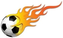 ball,soccer,footbal,fire,on,flame